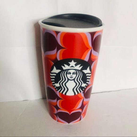 Starbucks Hearts 12 OZ Tumbler Cup